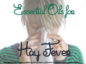 Remedy Hay Fever With Essential Oils