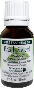 Basil, Sweet Essential Oil Uses and Benefits