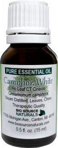 Camphor, White Essential Oil Uses and Benefits