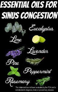 Essential Oils for Sinus Infection and Congestion