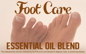 Foot Care Essential Oil Blend