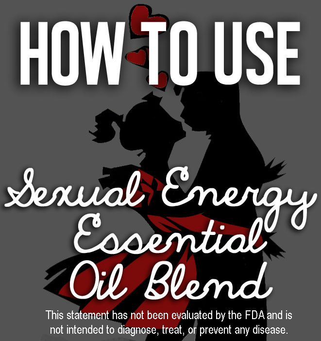 Sexual essential oil blends