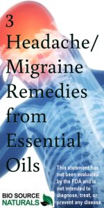 Essential Oil Remedies for Headaches and Migraines