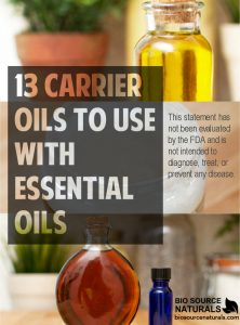 13 Carrier Oils to Use with Essential Oils