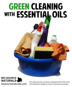 Top 7 Green Cleaning Essential Oils