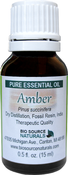 Amber Resin Oil Uses and Benefits