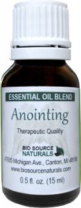 anointing essential oil