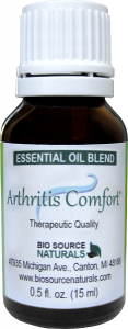 essential oils for arthritis comfort