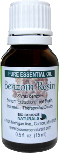 benzoin resin oil uses and benefits