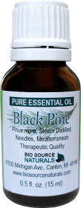 black pine essential oil uses and benefits