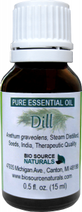 dill seed essential oil uses and benefits