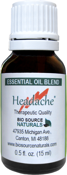 Headache Essential Oil Blend
