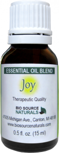 joy essential oil blend