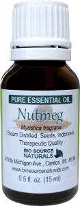 nutmeg essential oil uses and benefits