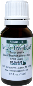 Peach Tree Leaf Absolute Oil Uses and Benefits