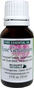 Rose Geranium Essential Oil Uses and Benefits