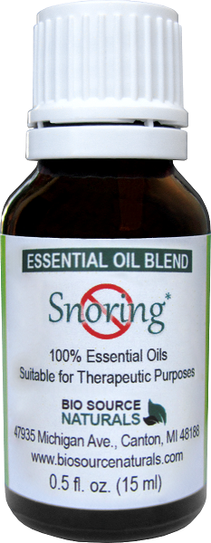 No Snoring Essential Oil Blend