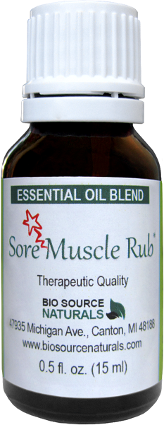 Sore Muscle Rub Essential Oil Blend