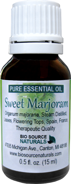 Sweet Marjoram Essential Oil Uses and Benefits