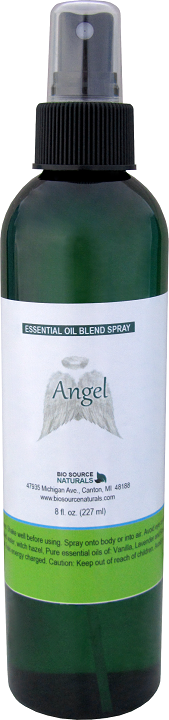 angel essential oil blend spray