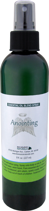 anointing essential blend spray