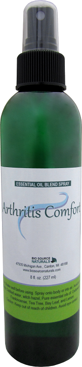 Arthritis Comfort essential oil blend spray