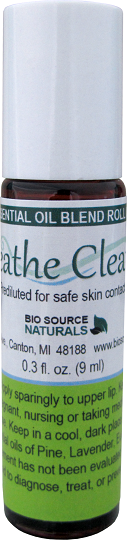 Breathe Clearly Essential Oil Blend Roll On