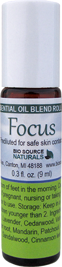 Focus Essential Oil Blend Roll On
