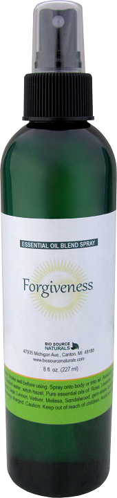 Forgiveness essential oil blend spray