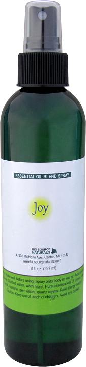 Joy essential oil blend spray