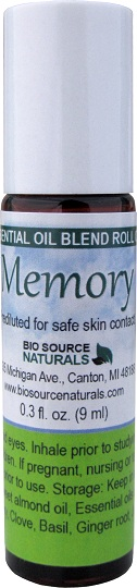 Memory Essential Oil Blend Roll On