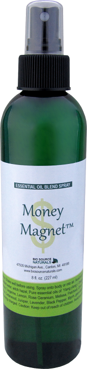 Money Magnet essential oil blend spray