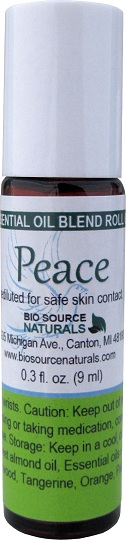 Peace Essential Oil Blend Roll On