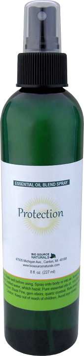 Protection essential oil blend spray