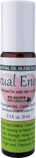 Sexual Energy Essential Oil Blend Roll On