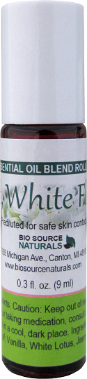 Soft, White Floral Blend Roll On