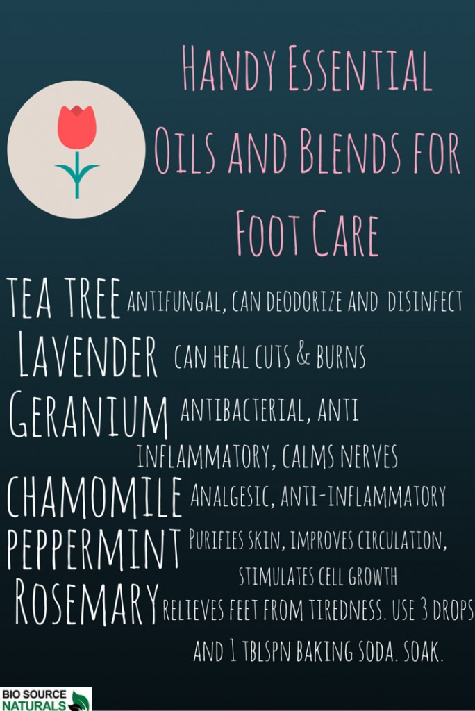 Essential Oils for Foot Care