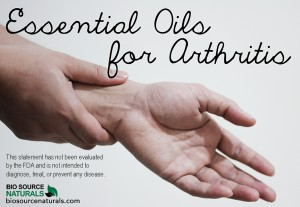 Essential Oils for Arthritis Pain and Carpal Tunnel