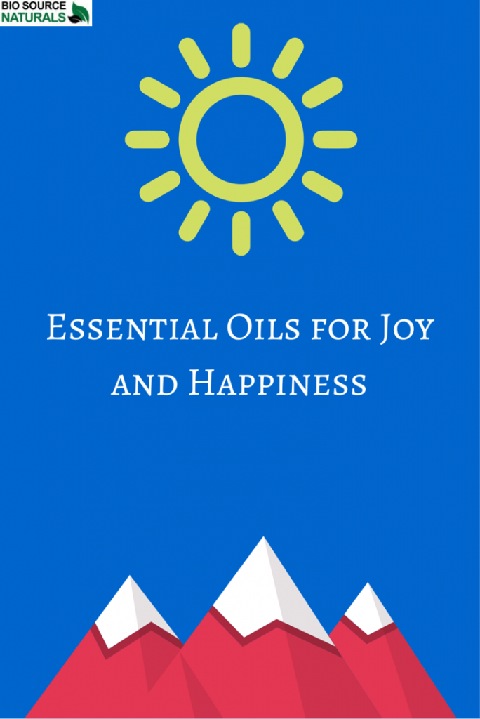 Essential Oils for Happiness and Joy
