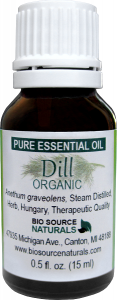 Dill Weed Essential Oil Uses and Benefits