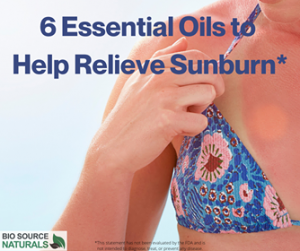 6 Essential Oils to Help Relieve Sunburn