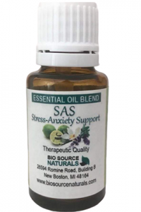 SAS! Stress-Anxiety Support Essential Oil Blend